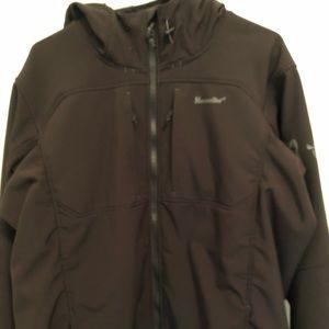 Men's Moosejaw Harper hooded soft shell XL
